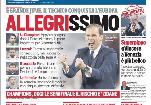 """FOTO – L'apertura del CorSport: """"Emery alla Roma"""""""