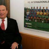 """Inter, l'ex presidente Pellegrini: """"Stagione negativa, ma ho fiducia per il futuro. Zhang è un vincente"""""""