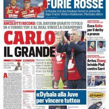 """FOTO – Benitez al Corriere dello Sport: """"Il Napoli sarà l'antiJuve"""""""