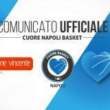 UFFICIALE – Cuore Napoli Basket, arriva il title sponsor: è Generazione Vincente!