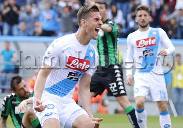 Sassuolo-Napoli 2-2, le pagelle: bentornato Milik. Male Hamsik e Allan