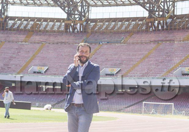 """Borriello, Ass. allo Sport: """"Stiamo parlando con il Napoli per fare il museo all'interno del San Paolo"""""""