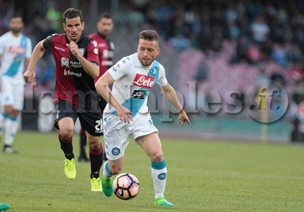 """Giaccherini, l'agente: """"Il Napoli ha fatto un affare a non cederlo in estate. All'Olimpico azzurri favoriti"""""""