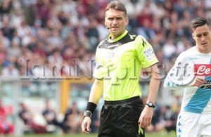 Torino-Napoli, arbitra Irrati di Pistoia: al Var c'è Mazzoleni!