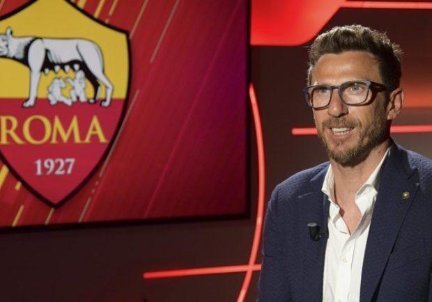 """Roma, Di Francesco: """"Siamo in crescita, dobbiamo continuare così a cominciare dal Napoli"""""""