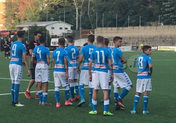 Giovanissimi Regionali Fascia B,  Napoli-Luigi Vitale 8-1: tripletta di Solmonte