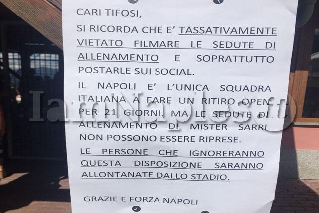 Napoli, prosegue il ritiro a Dimaro: c'è anche Mario Rui