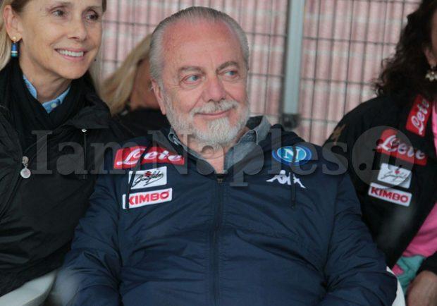 """De Laurentiis: """"Berardi mi piace, per Zapata potrebbe esserci l'irruente asta dell'ultima ora"""""""