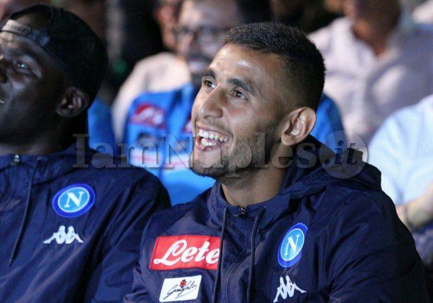FOTO – Ancelotti accoglie Ghoulam a Dimaro: l'algerino arrivato in ritiro