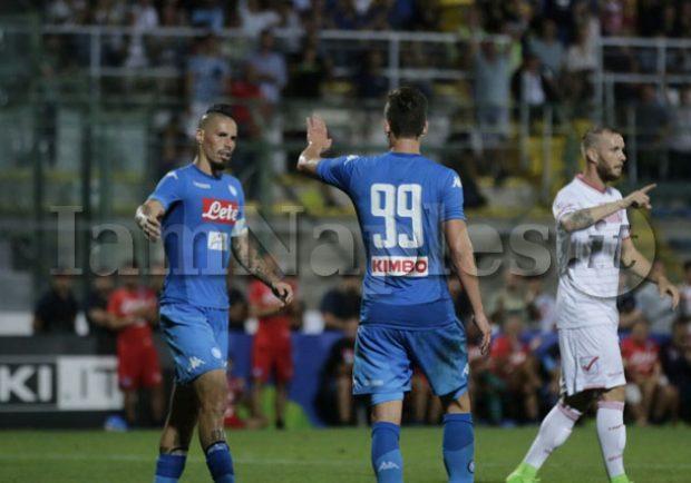 VIDEO – Raddoppio di Milik! Il Napoli è sul 2 a 0 contro l'Hellas