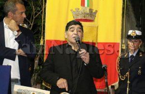 """Maradona: """"Il Napoli? Come il mio. Può vincere"""""""