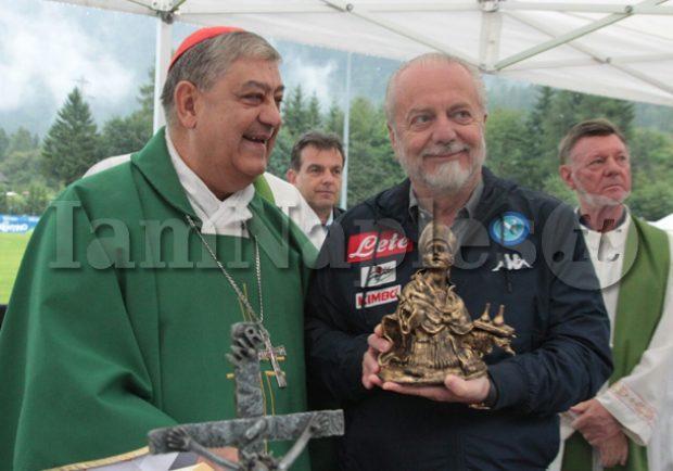 """Il patron De Laurentiis: """"Mi sento più napoletano che romano"""""""