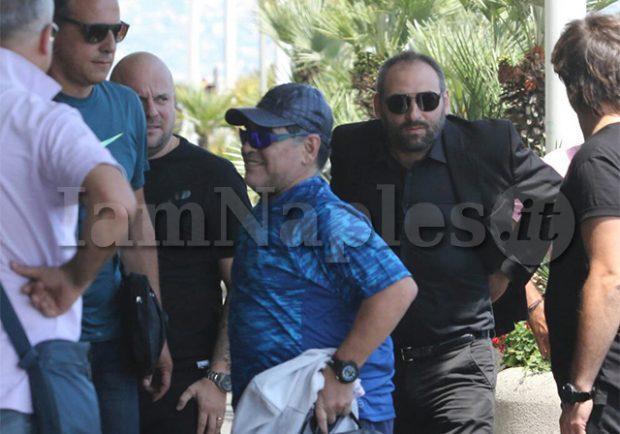 Maradona fermato e poi rilasciato dalla polizia a Buenos Aires