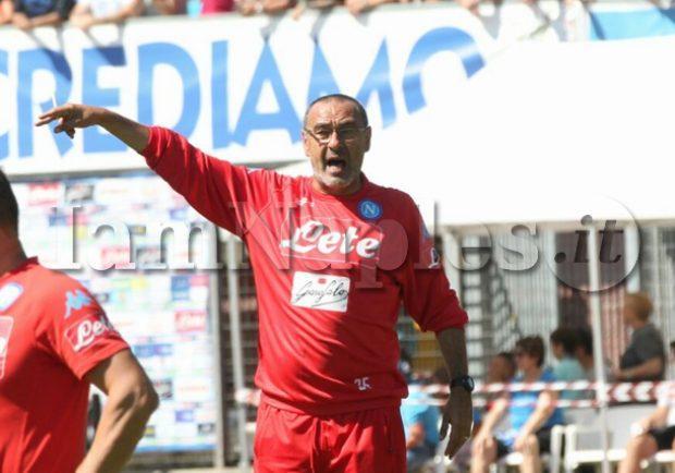 Napoli, il report dell'allenamento di oggi: Sarri prepara la sfida con l'Inter