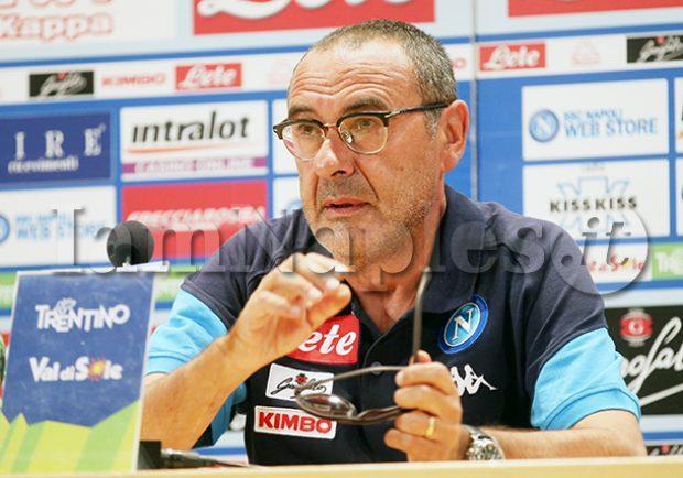 GRAFICO – Napoli-Milan, Sarri sceglie i titolarissimi, Montella il 3-5-1-1 con Suso alle spalle di Kalinic