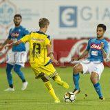 """RILEGGI IL LIVE – Napoli-Trento 7-0: altra goleada azzurra, prima """"gioia"""" per Ounas"""