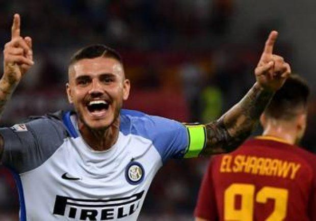 "Roma-Inter 1-3: Spalletti si ""vendica"", decisivo Icardi in rimonta"
