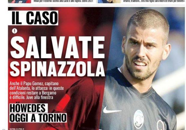 """Foto – Tuttosport in prima pagina: """"Pavoletti a Cagliari"""""""