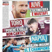 """FOTO – Tuttosport: """"Napoli sì, è Champions"""""""