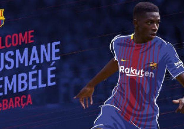 UFFICIALE – Barcellona, Dembelè firma un quinquennale: al Dortmund 105 milioni