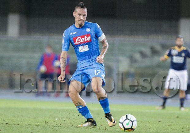 """Hamsik: """"Bella vittoria contro la Slovenia, atmosfera incredibile"""""""