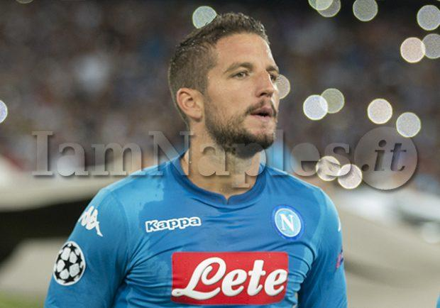 "FOTO – L'appello del Cds in prima pagina: ""Mai più Mertens in panchina"""