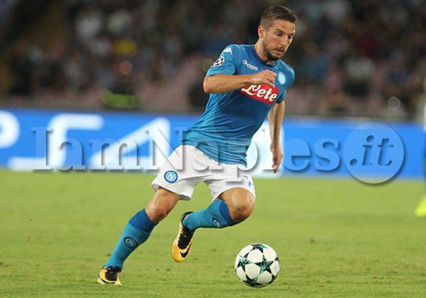 "SSC Napoli: ""Mertens ha svolto allenamento differenziato per motivi precauzionali"""