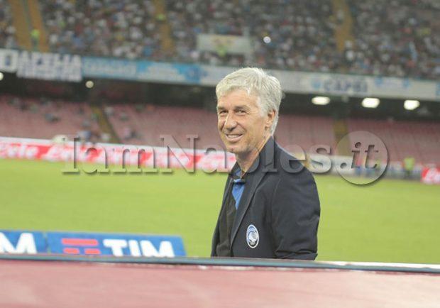 """Gasperini: """"Sportiello è andato via perchè voleva il Napoli. Gli azzurri sono più convinti di vincere lo scudetto"""""""