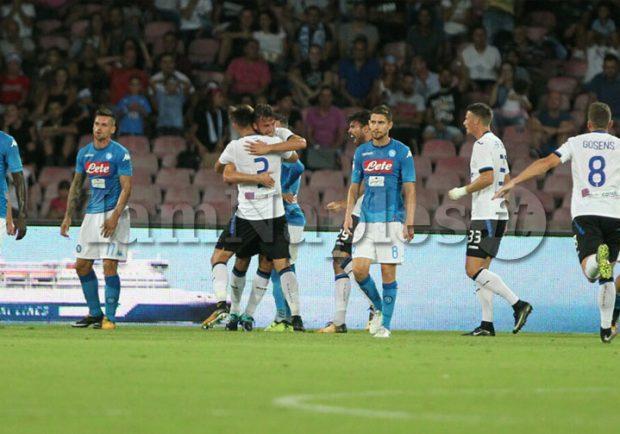 VIDEO – Napoli-Atalanta, il vantaggio di Cristante