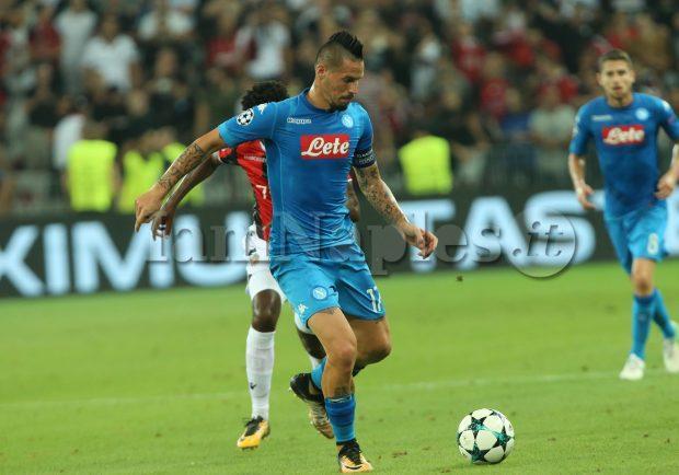 Serie A, Hamsik tra i primi tre podisti della 12a giornata: percorsi oltre 12 km