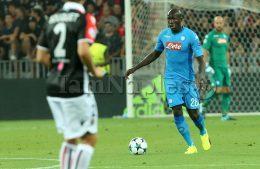 Nizza-Napoli 0-2: Napoli da Champions, fantastico Koulibaly, sempre preziosi Callejon, Insigne e Jorginho