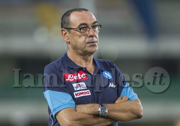 Napoli-Benevento, Sarri non terrà la conferenza stampa prima del match