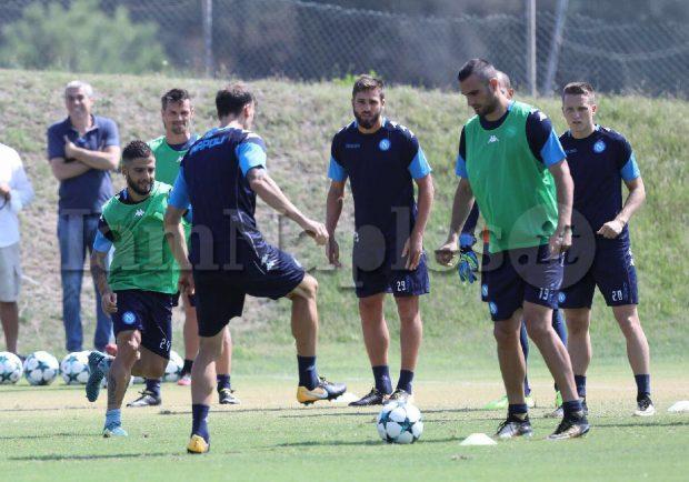 Ssc Napoli – Mercoledì la ripresa degli allenamenti con i giocatori che non sono in Nazionale