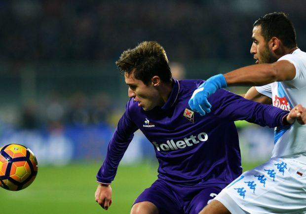 """Fiorentina, Thereau esalta Chiesa: """"Mai visto un giovane così"""""""