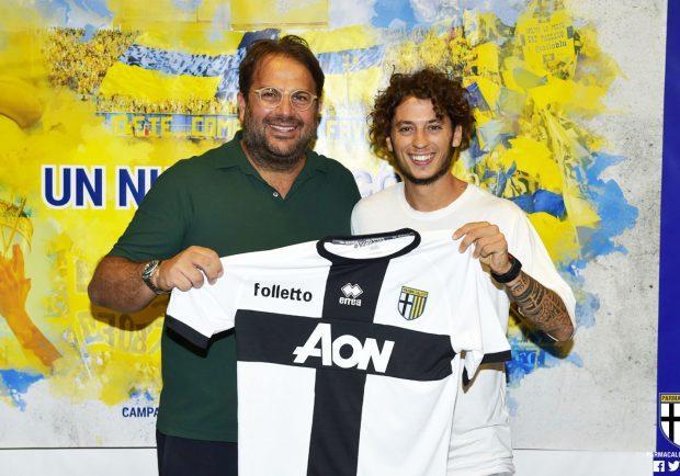 """Dezi sulla vittoria del Parma """"Siamo partiti col piede giusto, sono in una grande squadra"""""""