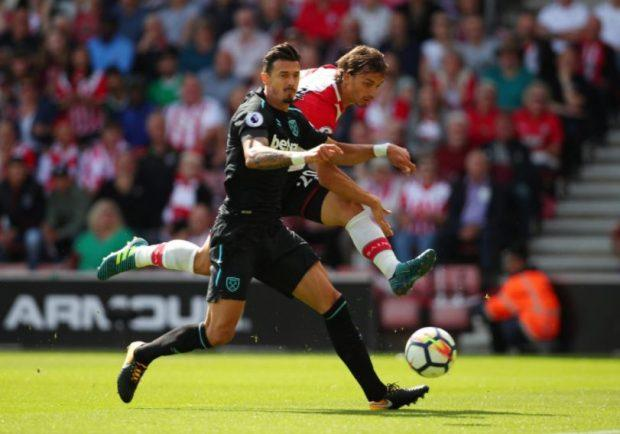 VIDEO – Diagonale mancino infallibile: Manolo Gabbiadini in gol in Southampton-West Ham