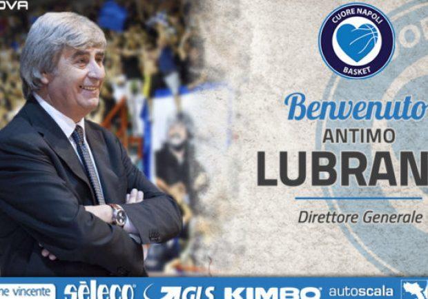 UFFICIALE – Cuore Napoli Basket, Antimo Lubrano è il nuovo direttore generale