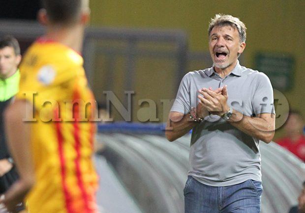 """Benevento, il ds Di Somma: """"Baroni non è a rischio esonero"""""""