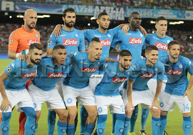"""Ranking UEFA: Il Napoli è davanti al Manchester United. Il club azzurro è alla 14esima posizione"""""""