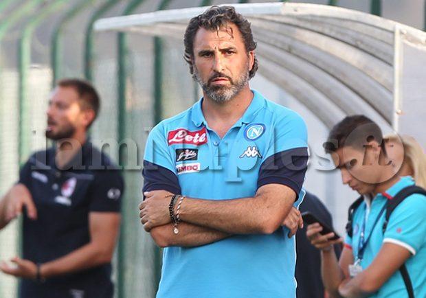 """Napoli Primavera, Saurini: """"Il pareggio sarebbe stato il risultato più giusto, dopo il gol subito siamo stati noi a fare la partita"""""""