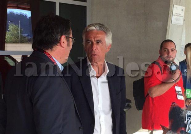 FOTO – Allianz Riviera, arrivato il presidente Riviere