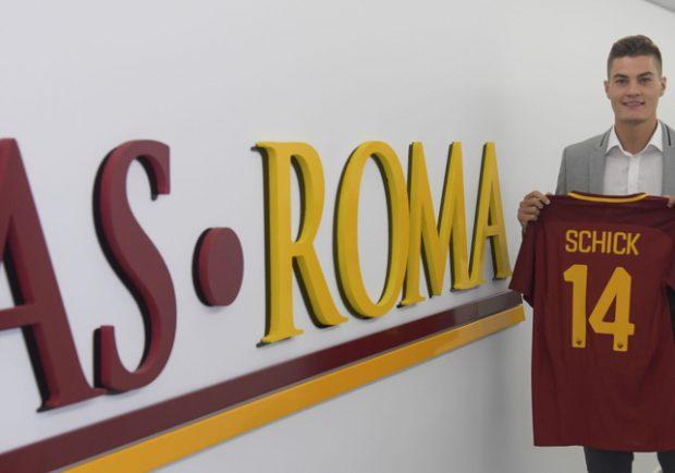 """Roma, Di Francesco: """"Schick non giocherà con la Sampdoria, è difficile anche che venga convocato"""""""