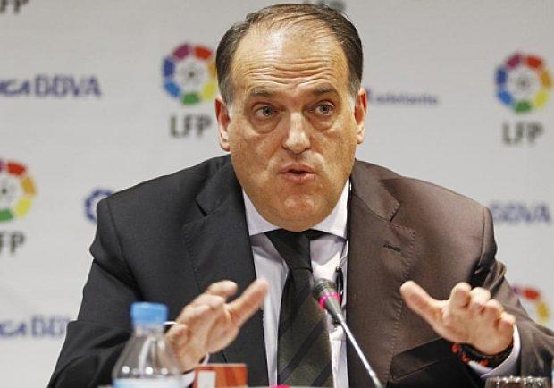 """Liga, il presidente Tebas: """"I finanziamenti che ricevono PSG e City stravolgonole competizioni europee"""""""