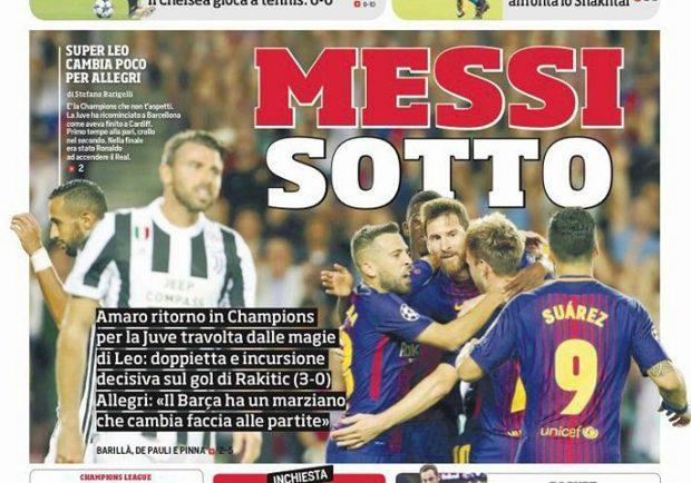 """FOTO – Corriere dello Sport: """"Sarri cambia il Napoli, gioca Milik!"""""""
