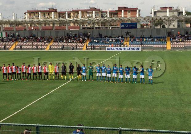RILEGGI IL LIVE – Youth League: Napoli-Feyenoord 2-2, non bastano Gaetano e Schiavi. Rimonta in extremis degli ospiti