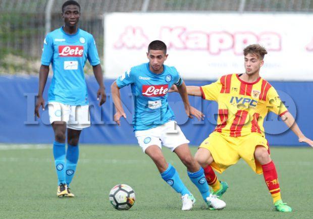 PHOTOGALLERY – Tim Cup Primavera, Napoli-Benevento 3-4, azzurrini eliminati dalla competizione