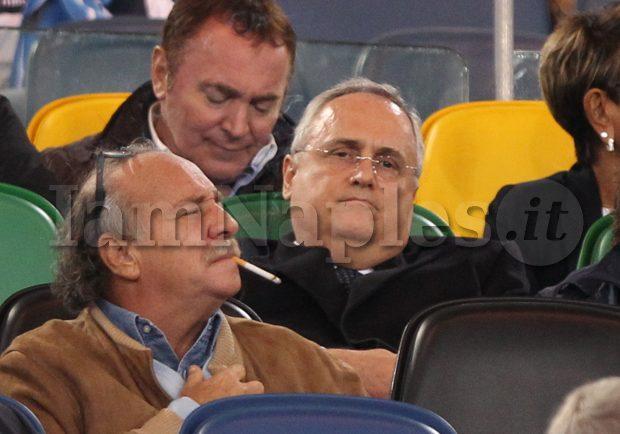 """Lazio, Lotito: """"Mai sentito De Laurentiis per Correa"""""""
