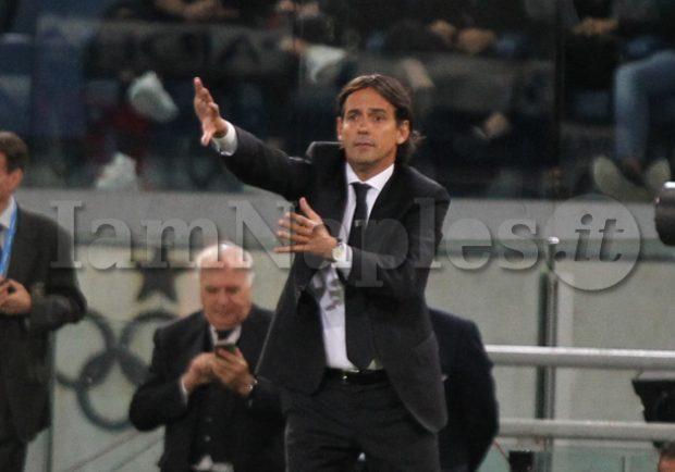 """Lazio, Inzaghi: """"La sconfitta col Napoli ci fortifica, abbiamo dimostrato di non essere inferiori agli azzurri"""""""