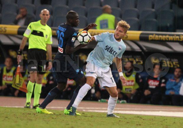 """Koulibaly: """"Vincere con la Lazio non è da tutti. Goal di Mertens? Penso che.."""""""