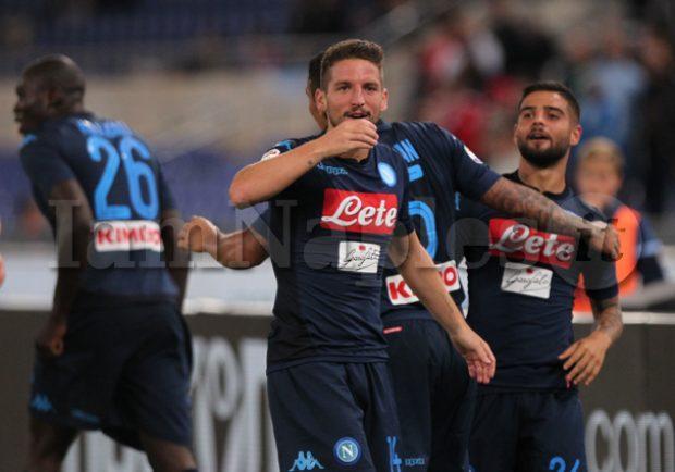 Lazio-Napoli 1-4, Mertens da antologia, in crescita Hamsik: le pagelle di IamNaples